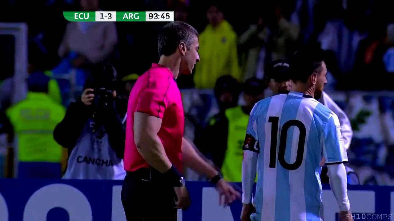 Download Lionel Messi vs Ecuador Away 11 10 2017 HD 1080i   English Commentary