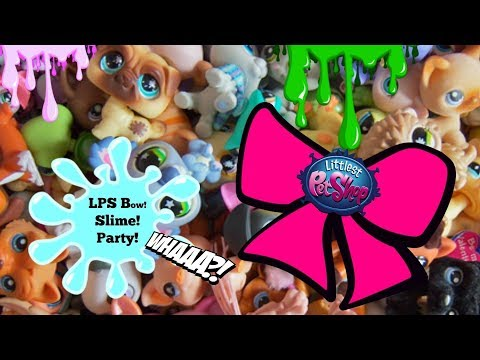 LPS Party time! DIY Littlest Pet Shop hairbow #LPS #Hairbows - 동영상