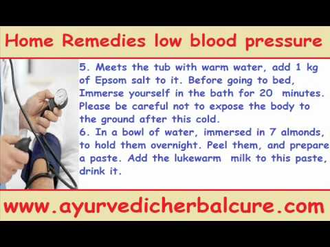 home remedies low blood pressure treatment simply - youtube, Skeleton