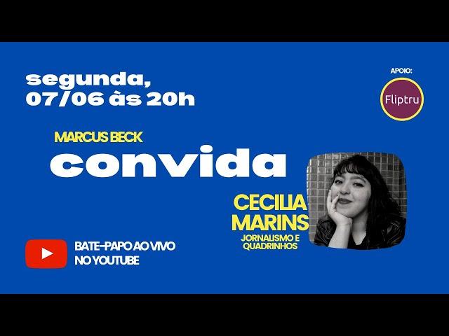 CONVIDA #08 - Cecilia Marins (jornalismo e quadrinhos)