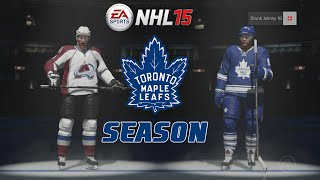"NHL 15: Toronto Maple Leafs Season ep. 4 ""Colorado Avalanche"""