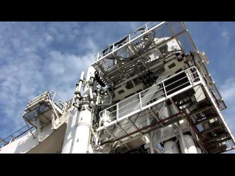 [HD]Oil rig support vessel, Seven Sisters (part 3) at Blyth Northumberland, England, UK, 9/2010