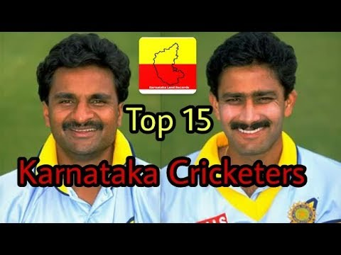 Top 15 Karnataka Cricketers who played for India