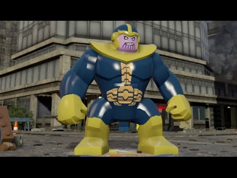 marvel lego thanos