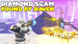 Größte Diamant Scam Box JEDER! 😱 (Scammer bekommt betrogen) Fortnite Save The World