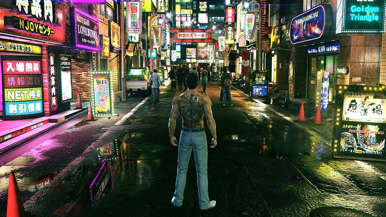 Yakuza Kiwami 2 PC Funny & Brutal Combat Gameplay - 4K Max Settings