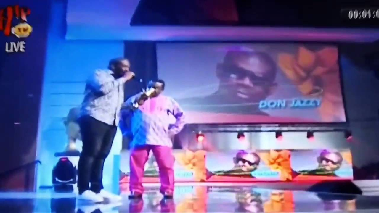 Download Don Jazzy Responds to Olamide at The Headies Awards