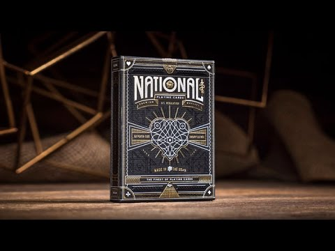 National Playing Cards By Theory 11 - Magicland.se