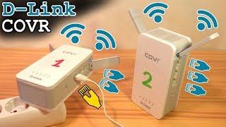D-Link COVR-P2502 • Wi-Fi Powerline System