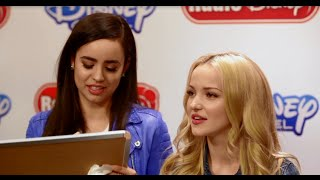 Dove Cameron and Sofia Carson Disney Villains Game | Radio Disney