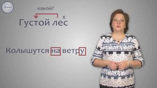 Русский 5 Словосочетание  Разбор словосочетания