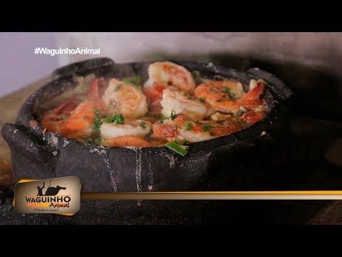 Waguinho Animal - Culinária Animal: Moqueca Paulista 24/02/18