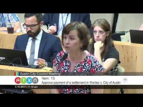 May 18 2017 City of Austin Car Wreck Settlement