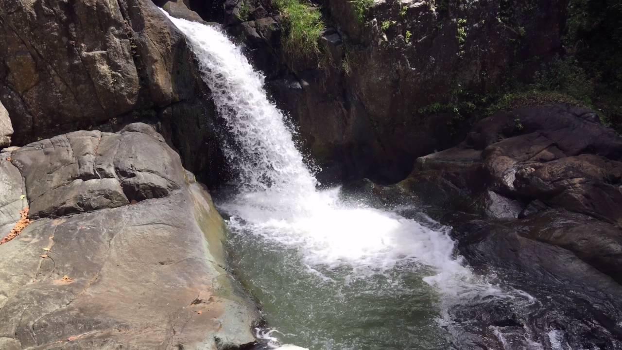 los pilones waterfalls, canovanas, puerto rico - youtube