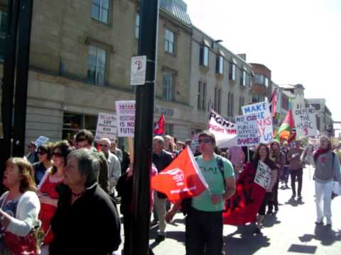 May Day Newcastle 2011- international workers day