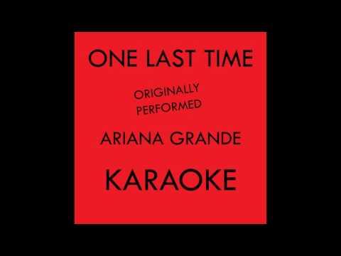 Disco Fever - One Last Time - Karaoke Version Originally Performed By Ariana Grande