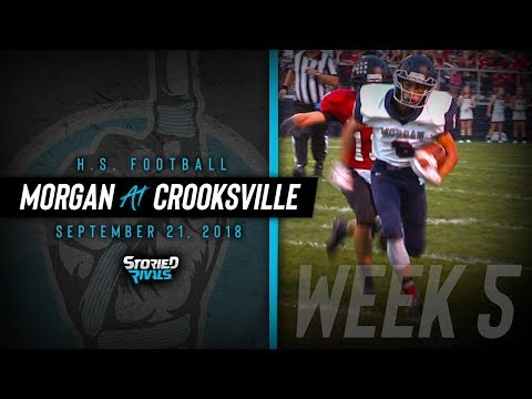 HS Football | Morgan at Crooksville [9/21/18]