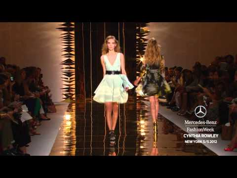 CYNTHIA ROWLEY - MERCEDES-BENZ FASHION WEEK SPRING 2012 COLLECTIONS
