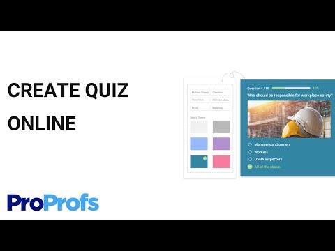 ProProfs Quiz Maker -  Create Online Quizzes in Minutes