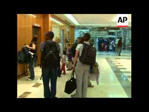 US Citizens evacuated from Guinea arrive in Senegal