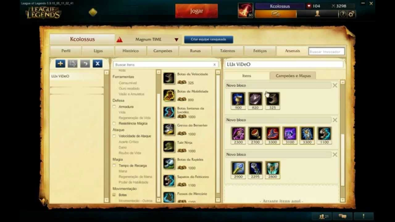 Lux Support Build