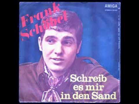 Frank Schöbel Schreib Es Mir In Den Sand