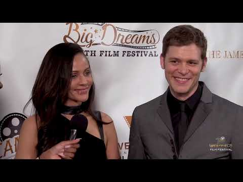 Joseph Morgan and Persia White at the 2018 Westfield International Film Festival
