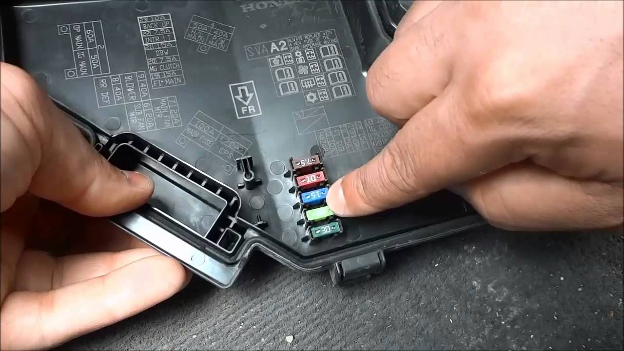 How To Check Fuse Box In Car : How to check car fuses tell if they re blown youtube