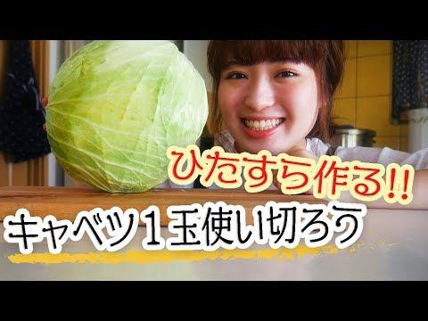【キャベツが1玉あったなら】たっぷり使って美味しい料理に!【贅沢レシピで4品】