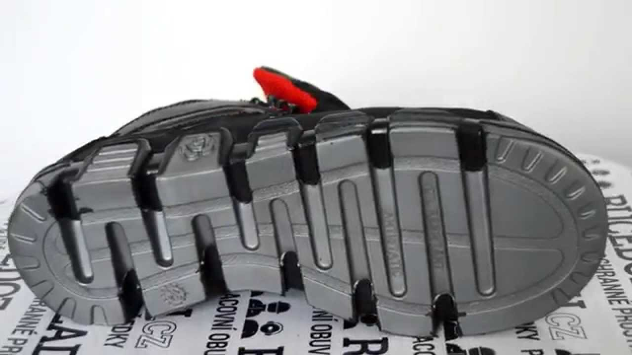 Pracovní obuv Prabos Cobra kotník S3 černá - podrážka    RUCEDOZADU.cz -  YouTube bf67d46aca