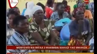 Wenyeviti Wakimbia Makazi Yao Mwanza