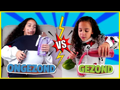 GEZOND vs ONGEZOND - SKETCH!
