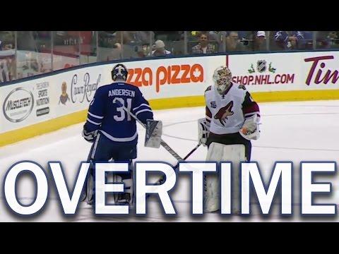 (Full Overtime) Arizona Coyotes vs Toronto Maple Leafs - 12/15/2016
