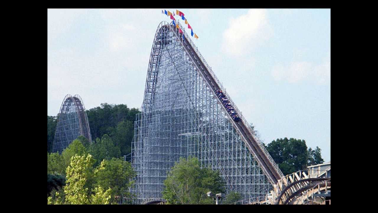 Top 10 Tallest Wooden Roller Coasters In The World