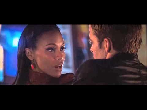 STAR TREK [2009] Scene: Kirk meets Uhura/Bar Fight.