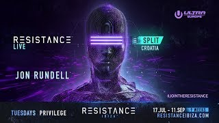 Jon Rundell DJ set @ Ultra Croatia: Resistance 2018 - Day 2