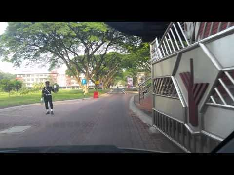 University Putra Malaysia car ride april 2016