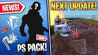 New PS Pack Bundle, 10.1 Content Update, Junk Rift Details, 'Void' POI, Pizza Wrap! - Fortnite News