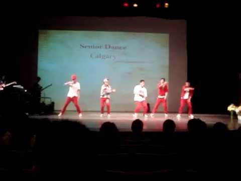 YFC Conference - Calgary Senior Dance 2011