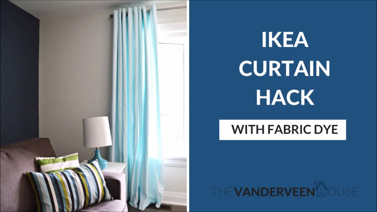 How To Dye Merete Curtains