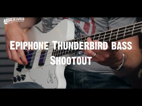 Epiphone Thunderbird bass Shootout