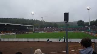 Stimmung bei dem Spiel Erndtebrück vs Frankfurt