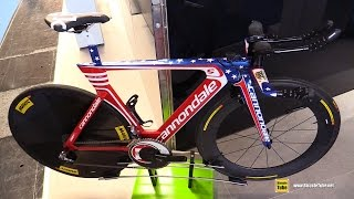 2015 Cannondale Slice - Andrew Talansky Tour de France Time Trial Bike - Walkaround - 2015 Euurobike
