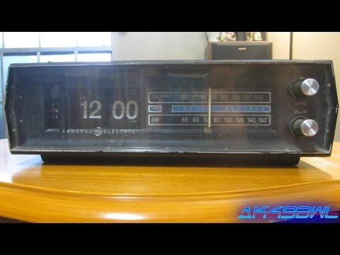 "General Electric C4332C Clock Radio ""Working"""