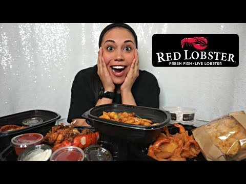 Eat With Me | Red Lobster Mukbang (New Menu Items)