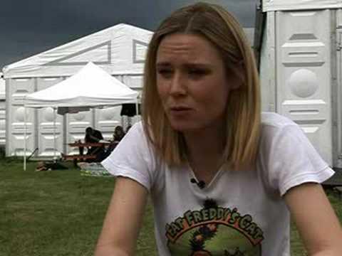 Róisín Murphy - Interview(1/3) Pinkpop