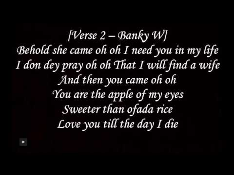 Banky W ft Chidinma   All I Want Is You Lyrics