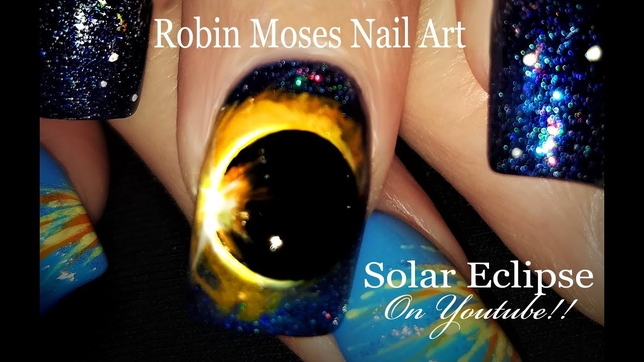 Solar eclipse 2017 nails a hollow moon shadowing our sun solar eclipse 2017 nails a hollow moon shadowing our sun unbelievable nail art design tutorial prinsesfo Choice Image
