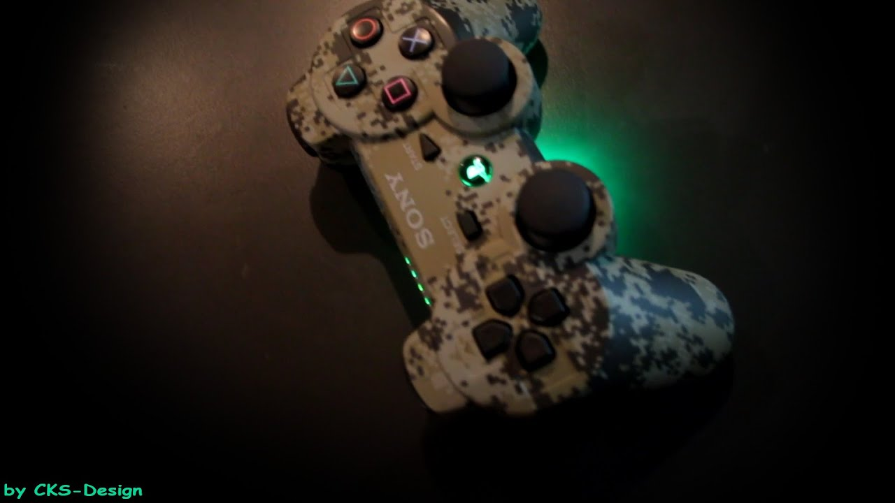 Custom ps3 controller light toxic camouflage by cks design full custom ps3 controller light toxic camouflage by cks design full hd voltagebd Choice Image