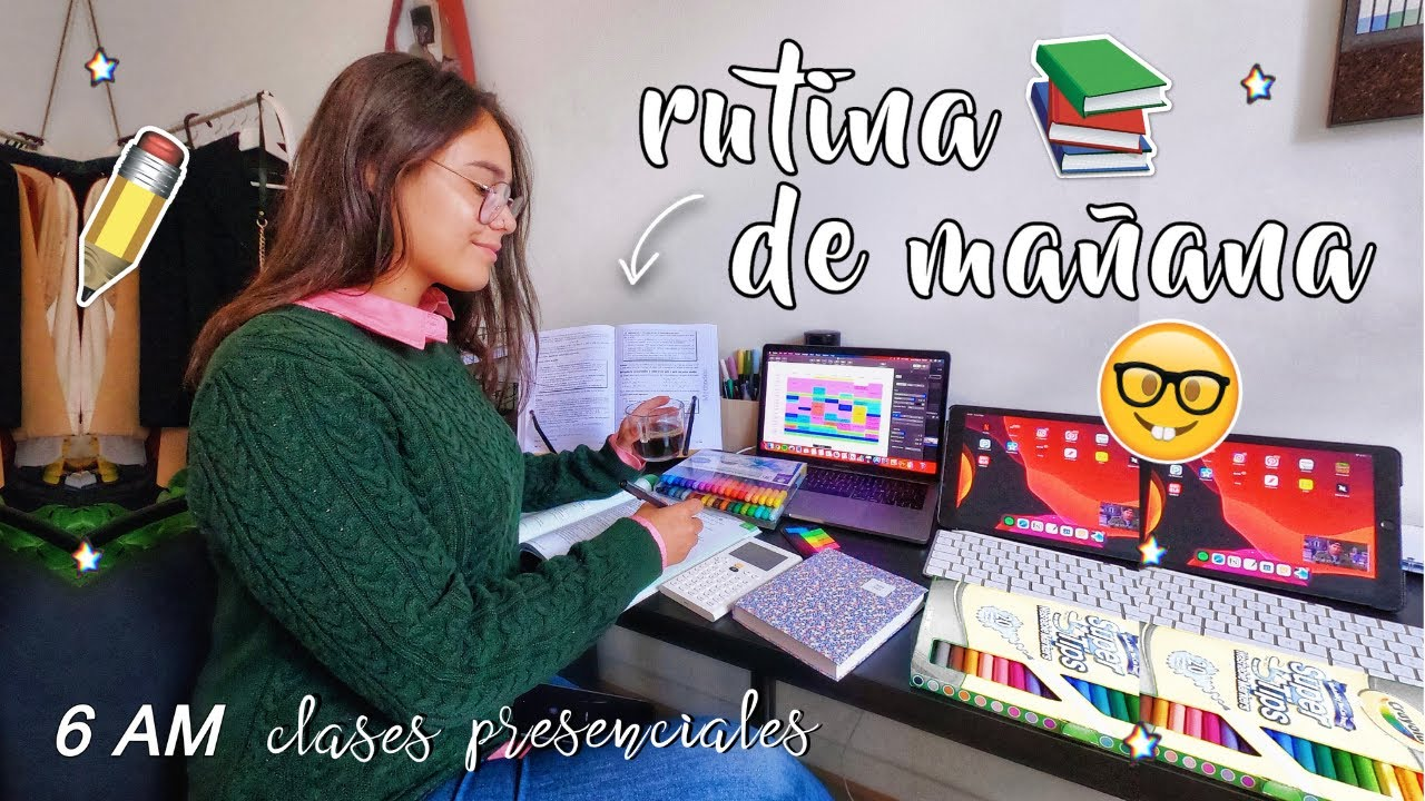 RUTINA DE MAÑANA PARA CLASES PRESENCIALES - 6 AM